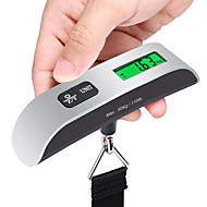 cheap Travel Accessories-Stainless Steel Rubber Travel Luggage Scale Portable Luggage Accessory Multi-function