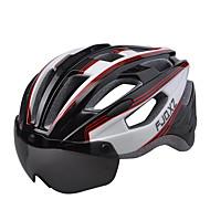 저렴한 -FJQXZ 자전거 헬멧 인증 싸이클링 17 통풍구 남여 공용 1680D 방수 원재 산악 사이클링 도로 사이클링 레크리에이션 사이클링