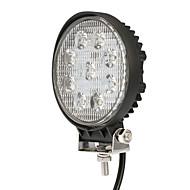 Kkmoon 27w led carro luz barra de trabalho 4,3 polegadas round spot feixe para jeep 4x4 offroad atv caminhão suv 12v 24v