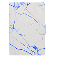 Недорогие Чехлы и кейсы для Samsung Tab-Кейс для Назначение SSamsung Galaxy Вкладка 9,7 Вкладка 8,0 Бумажник для карт со стендом Флип Магнитный С узором Чехол Мрамор Твердый