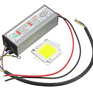 1pc high power 100w led smd chip pære med vandtæt driver forsyning