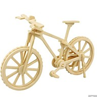 billige Legetøj og hobby-3D-puslespil Puslespil Træ model Legetøj Cykel 3D GDS Træ Naturlig Træ Unisex Stk.