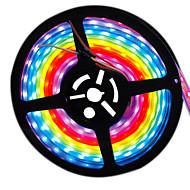 お買い得  -HKV フレキシブルLEDライトストリップ 300 LED パープル カット可能 防水 変色 DC 12V