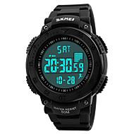 SKMEI Муж. Спортивные часы Армейские часы Модные часы Наручные часы электронные часы Японский КварцевыйLED Календарь Защита от влаги