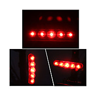 preiswerte Taschenlampen, Laternen & Lichter-Fahrradrücklicht LED Radsport Outdoor AAA Lumen Batterie Rot Radsport