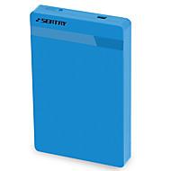 (좌석) hds2130-bl 2.5 인치 usb3.0 모바일 하드 디스크 상자 직렬 포트 노트북 하드 디스크 외부 상자 파란색