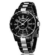 billige -OHSEN Herre Sportsklokke Moteklokke Armbåndsur Unike kreative Watch Hverdagsklokke Klokke Ull Quartz LED Legering Plast BandKul Fritid