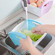 お買い得  収納&整理-高品質 とともに プラスチック 収納・整理用品 家庭向け / オフィス向け キッチン ストレージ 1 pcs