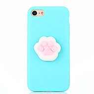voordelige Nieuw Binnengekomen-Voor case cover diy squishy achterkant behuizing solid color dier 3d cartoon zachte siliconen voor appleofoon 7 plus iphone 7 iphone 6s