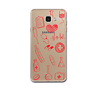 hoesje Voor Samsung Galaxy A5(2017) A3(2017) Transparant Patroon Achterkantje Hart Zacht TPU voor A3 (2017) A5 (2017) A7 (2017) A8