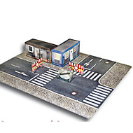 billige Legetøj og hobbyartikler-3D-puslespil Papirmodel Papirkunst Modelbyggesæt Berømt bygning Hus Hest Arkitektur 3D GDS Hårdt Kortpapir Klassisk Unisex Gave
