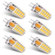 Χαμηλού Κόστους LED Φώτα με 2 pin-3W G4 LED Φώτα με 2 pin T 20 leds SMD 2835 Θερμό Λευκό Άσπρο 300lm 3000-3500   6000-6500