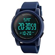 Недорогие Фирменные часы-SKMEI Муж. Цифровой электронные часы Наручные часы Армейские часы Спортивные часы Японский Будильник Календарь Секундомер Защита от влаги