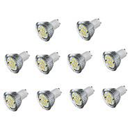 お買い得  LED スポットライト-10個 5W 450lm GU10 LEDスポットライト 16 LEDビーズ SMD 5730 装飾用 温白色 クールホワイト 85-265V