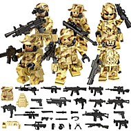 Building Blocks Educational Toy Block Minifigures Toys Warrior Not Specified Pieces