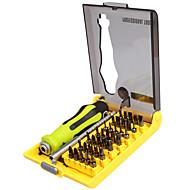 abordables Herramientas de Reparación y Piezas de Repuesto-Best-8914 precision 37 en 1 destornillador multiusos destornillador magnético de bits para xbox kit de herramientas de apertura de