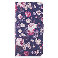 Taske til Sony Xperia x xa tilfælde dækker blomster mønster pu læder tasker til Sony Xperia x Compact Xz Premium Z5 Premium m2 M4 Aqua Xa1