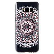 Недорогие Чехлы и кейсы для Galaxy S8 Plus-Кейс для Назначение SSamsung Galaxy S8 Plus S8 С узором Кейс на заднюю панель Геометрический рисунок Мягкий ТПУ для S8 Plus S8 S7