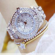 voordelige Modieuze horloges-Dames Dress horloge Modieus horloge Polshorloge Armbandhorloge Unieke creatieve horloge Vrijetijdshorloge Gesimuleerd Diamant Horloge