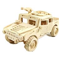 billige Legetøj og hobbyartikler-Legetøjsbiler 3D-puslespil Puslespil Træmodeller Luftfartøj Bil Hest 3D GDS Træ Klassisk Drenge Unisex Gave