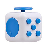 cheap Toy & Game-Fidget Toys Fidget Cube Stress Relievers Toys Square Silicon Rubber Pieces Unisex Gift