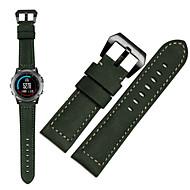 Недорогие Аксессуары для смарт-часов-Ремешок для часов для Fenix 5x Fenix 3 Garmin Спортивный ремешок Натуральная кожа Повязка на запястье