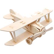 preiswerte Spielzeuge & Spiele-Muwanzi 3D - Puzzle / Holzpuzzle / Holzmodelle Flugzeug / Kämpfer / Berühmte Gebäude Heimwerken Hölzern Klassisch Unisex Geschenk
