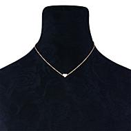 여성용 초커 목걸이 보석류 Heart Shape 구리 패션 개인 Euramerican 의상 보석 보석류 제품 일상복 일상 캐쥬얼 아웃도어 의류
