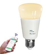 お買い得  LED ボール型電球-JIAWEN 1個 9W 720lm E26 / E27 LEDボール型電球 LEDビーズ 調光可能 リモコン操作 温白色 クールホワイト 110-240V