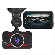abordables DVR de Coche-Y80 1080p HD DVR del coche 170 Grados Gran angular 3 pulgada Dash Cam con G-Sensor / Modo Parking / Detección de Movimiento No Registrador de coche / Grabación en Bucle / Micrófono Incorporado
