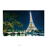 cheap Toys & Hobbies-Jigsaw Puzzle Wooden Puzzles Toys Tower Famous buildings Wood Iron Unisex Pieces