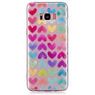 Чехол для samsung galaxy s8 s8 плюс чехол чехол сердце образец tpu материал imd craft phone case