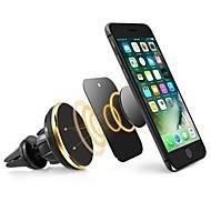 お買い得  -ziqiaoユニバーサルカーホンホルダー磁気エアベントマウントスタンド360回転携帯電話ホルダーiphoneのサムスンの電話