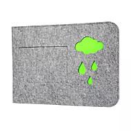 Bolso de liner de la computadora del cuaderno bolsa de lana cubierta de protección de fieltro 13,3 pulgadas