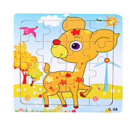 cheap Toys & Hobbies-Jigsaw Puzzle Wooden Puzzles Educational Toy Toys Sun Deer Other Marine animal Animals Wood Unisex Pieces