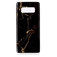 Недорогие Чехлы и кейсы для Galaxy Note-Кейс для Назначение SSamsung Galaxy Note 8 IMD С узором Кейс на заднюю панель Мрамор Мягкий ТПУ для Note 8