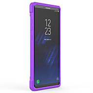 Кейс для Назначение SSamsung Galaxy Note 8 Полупрозрачный Задняя крышка Сплошной цвет Твердый PC для Note 8