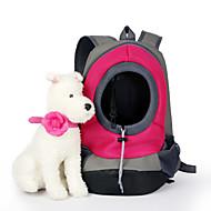 voordelige Dierbenodigdheden accessoires-Kat Hond Dragers & Reistassen Huisdieren manden Effen draagbaar Ademend Geel Rood Groen Blauw Roze Voor huisdieren