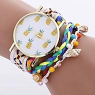 Dames Kinderen Sporthorloge Modieus horloge Unieke creatieve horloge Vrijetijdshorloge Polshorloge Armbandhorloge Chinees Kwarts / PU Band