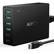 Usb oplader 6 Ports Desk Charger Station Met Quick Charge 3.0 Amerikaanse stekker Oplaadadapter