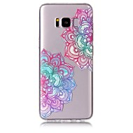 Недорогие Чехлы и кейсы для Galaxy S8-Кейс для Назначение SSamsung Galaxy S8 Plus / S8 С узором Кейс на заднюю панель Цветы Мягкий ТПУ для S8 Plus / S8 / S7 edge
