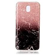 case for samsung galaxy j7 (2017) j5 (2017) fedél imd mintás hátlap burkolat márvány soft tpu for j3 (2017)