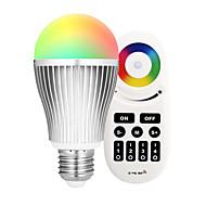 9W E27 Okos LED izzók A60(A19) 18 led SMD 5730 Infravörös érzékelő Tompítható Távvezérlésű WIFI APP vezérlés fényvezérlő RGB + Meleg 900