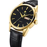 WWOOR Муж. Спортивные часы Модные часы Наручные часы Уникальный творческий часы Повседневные часы Часы Дерево Кварцевый Календарь