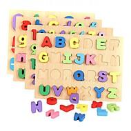 tanie Zabawki & hobby-Klocki Puzzle Zabawki matematyczne Zabawka edukacyjna Zabawki Prostokątny Číslice Litera  Drewniany Chłopcy Dziewczyny Sztuk
