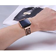 Недорогие Мужские часы-Для фиттинговых плавких лент байат замена цепочек из нержавеющей стали с металлическим каркасом для фититового пламени розового золота