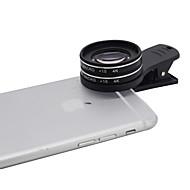 Kyotsu Telefonobjektiv Makroobjektiv Aluminium 15x15x Handykameraobjektivinstallationssatz für Samsung android smartphones iphone