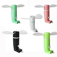 Ruishengdaotg micro usb telefon mobil ventilator portabil dock cool cooler ventilator rotativ pentru android