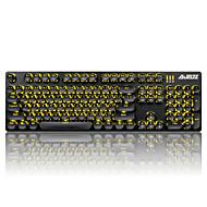 abordables Escaparate de Marcas-Ajazz keycaps conjunto de teclado mecánico teclado gamimg teclado steampunk 104 teclas