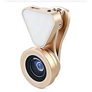 Lentille de téléphone portable zoshi lq-031 Objectif grand angle 0.6x lentille macro lentille avec verre allumé en alliage d'aluminium
